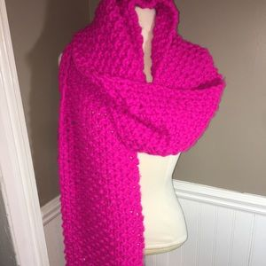 NWT Express Hand Knit thick Scarf
